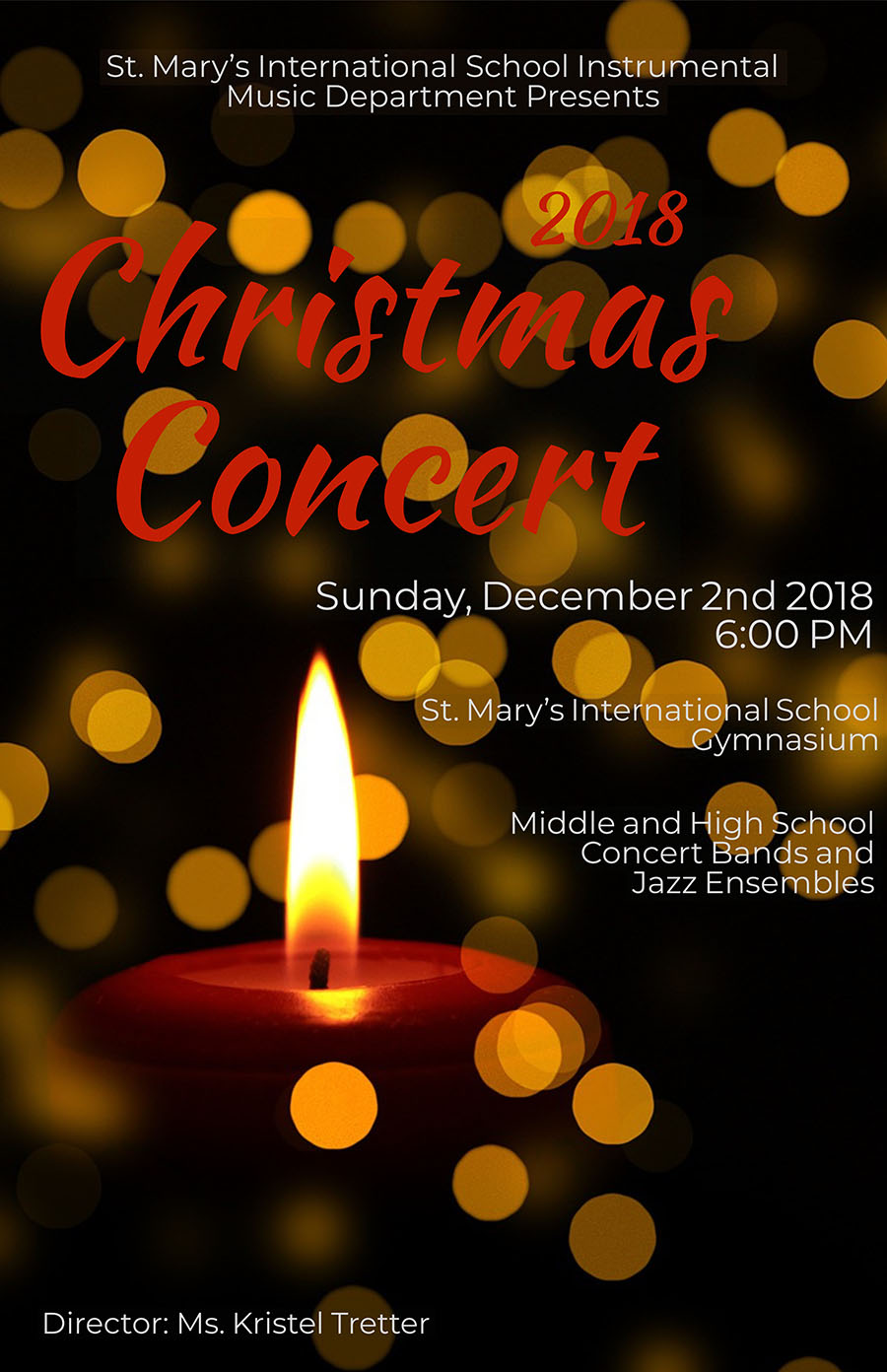 Instrumental Christmas Concert: Dec. 2