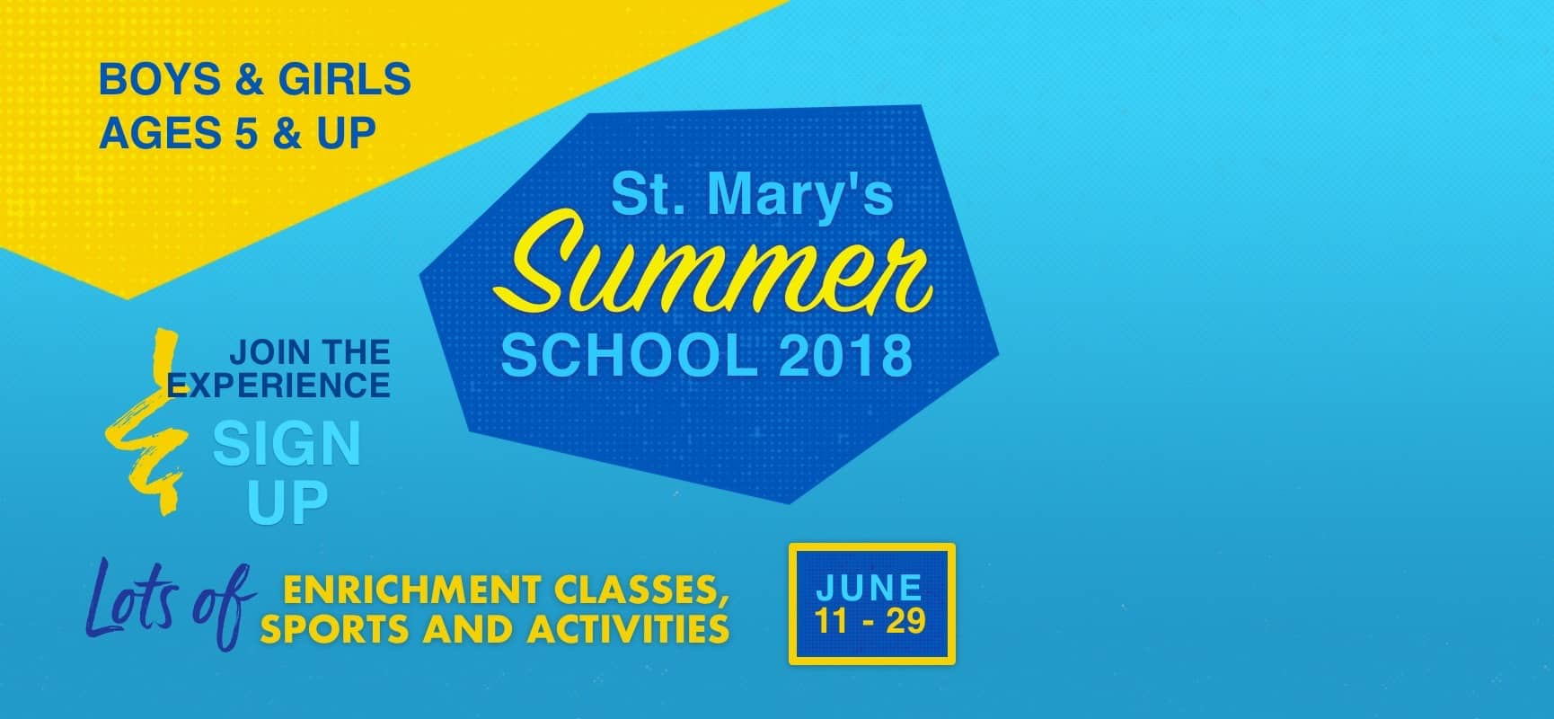 Summer School Registration and Sign Ups have begun!